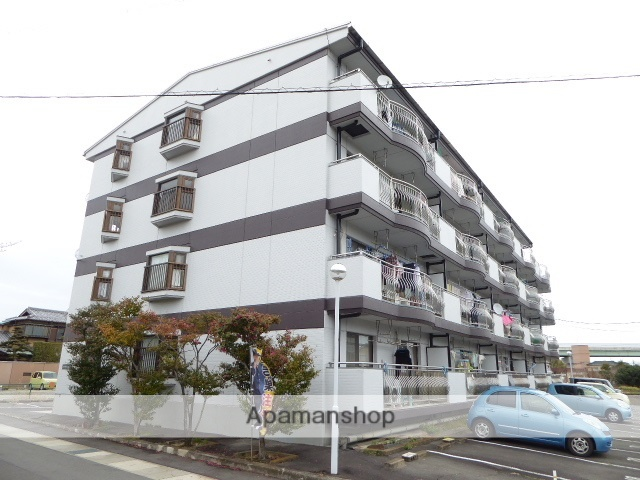愛知県一宮市、尾張一宮駅徒歩34分の築30年 4階建の賃貸マンション