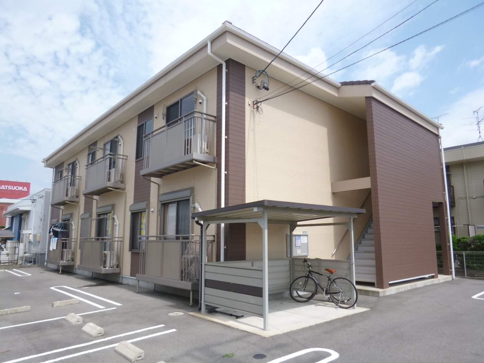 愛知県一宮市、尾張一宮駅名鉄バスバス20分平島南下車後徒歩5分の築7年 2階建の賃貸アパート
