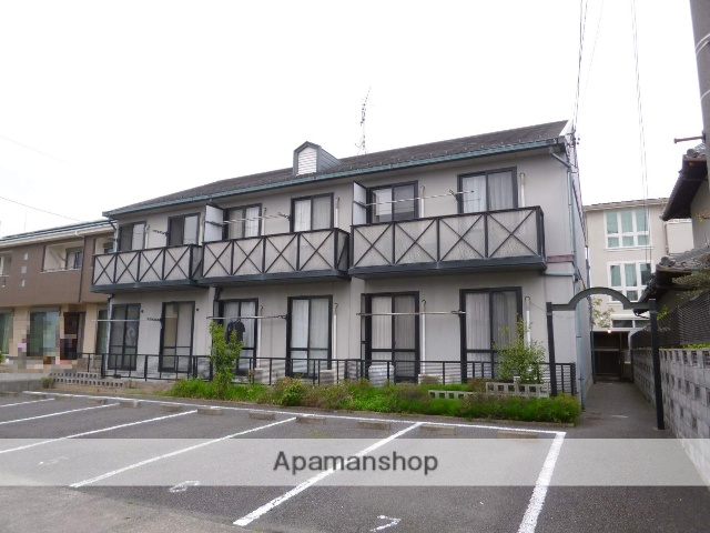 愛知県一宮市、尾張一宮駅徒歩23分の築21年 2階建の賃貸アパート