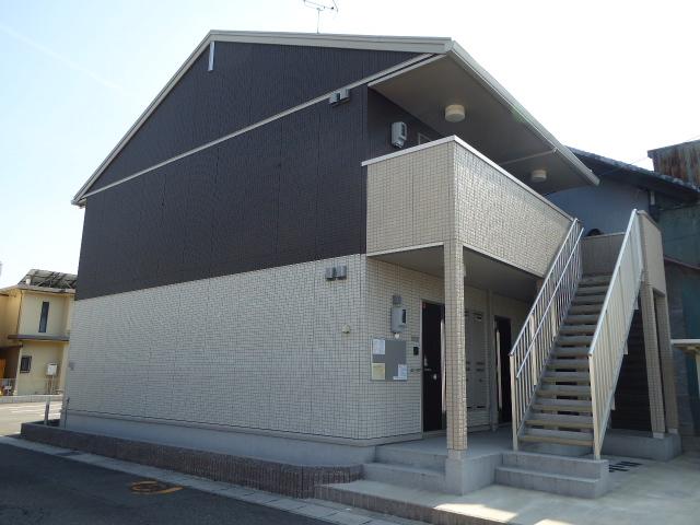 愛知県一宮市、名鉄一宮駅徒歩38分の築3年 2階建の賃貸アパート