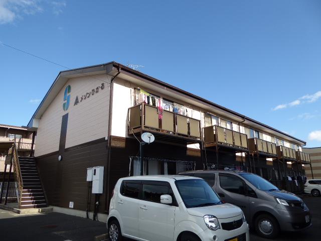 愛知県一宮市、木曽川駅徒歩17分の築22年 2階建の賃貸アパート
