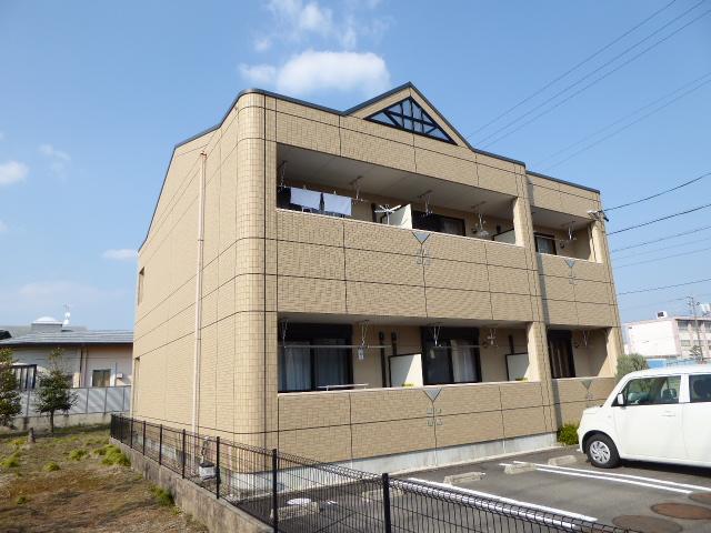 愛知県一宮市、尾張一宮駅名鉄バスバス17分西海戸下車後徒歩5分の築11年 2階建の賃貸アパート
