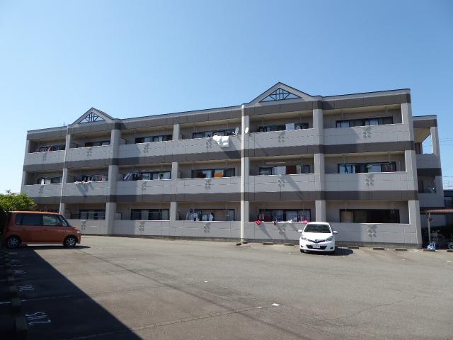 愛知県一宮市、今伊勢駅徒歩12分の築20年 3階建の賃貸マンション