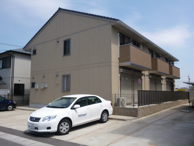 愛知県一宮市、尾張一宮駅徒歩30分の築7年 2階建の賃貸アパート