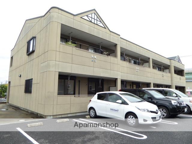 愛知県一宮市の築10年 2階建の賃貸アパート
