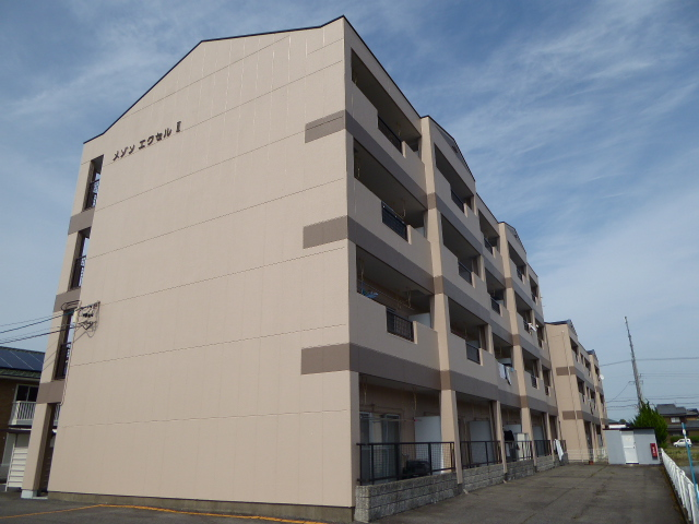 愛知県一宮市、今伊勢駅徒歩23分の築25年 4階建の賃貸マンション