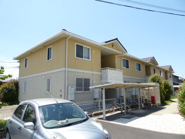 愛知県一宮市、奥町駅徒歩2分の築9年 2階建の賃貸アパート