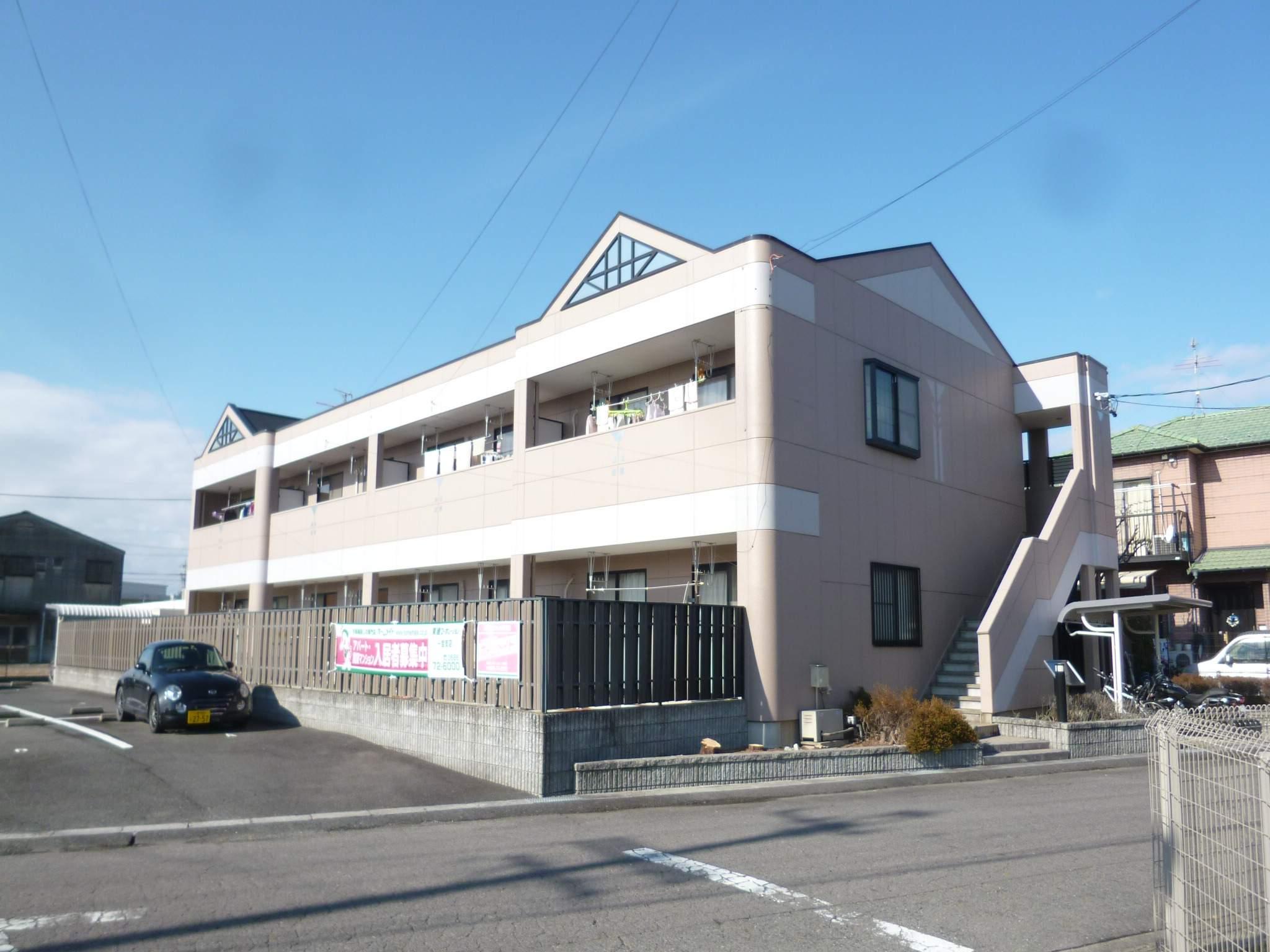 愛知県一宮市、尾張一宮駅名鉄バスバス18分大日比野下車後徒歩15分の築15年 2階建の賃貸マンション