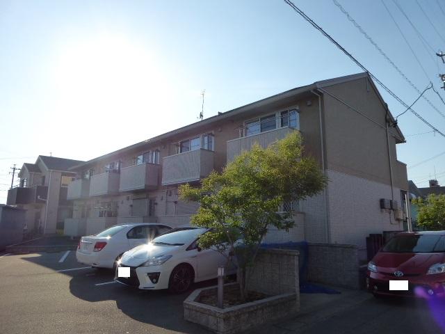 愛知県一宮市、稲沢駅徒歩36分の築7年 2階建の賃貸アパート