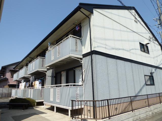 愛知県一宮市、名鉄一宮駅徒歩23分の築25年 2階建の賃貸アパート