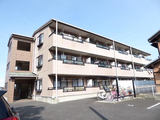 愛知県一宮市、尾張一宮駅名鉄バスバス20分山郷下車後徒歩7分の築17年 3階建の賃貸マンション