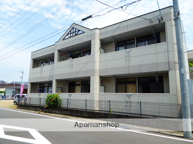 愛知県一宮市、新木曽川駅徒歩20分の築21年 2階建の賃貸アパート