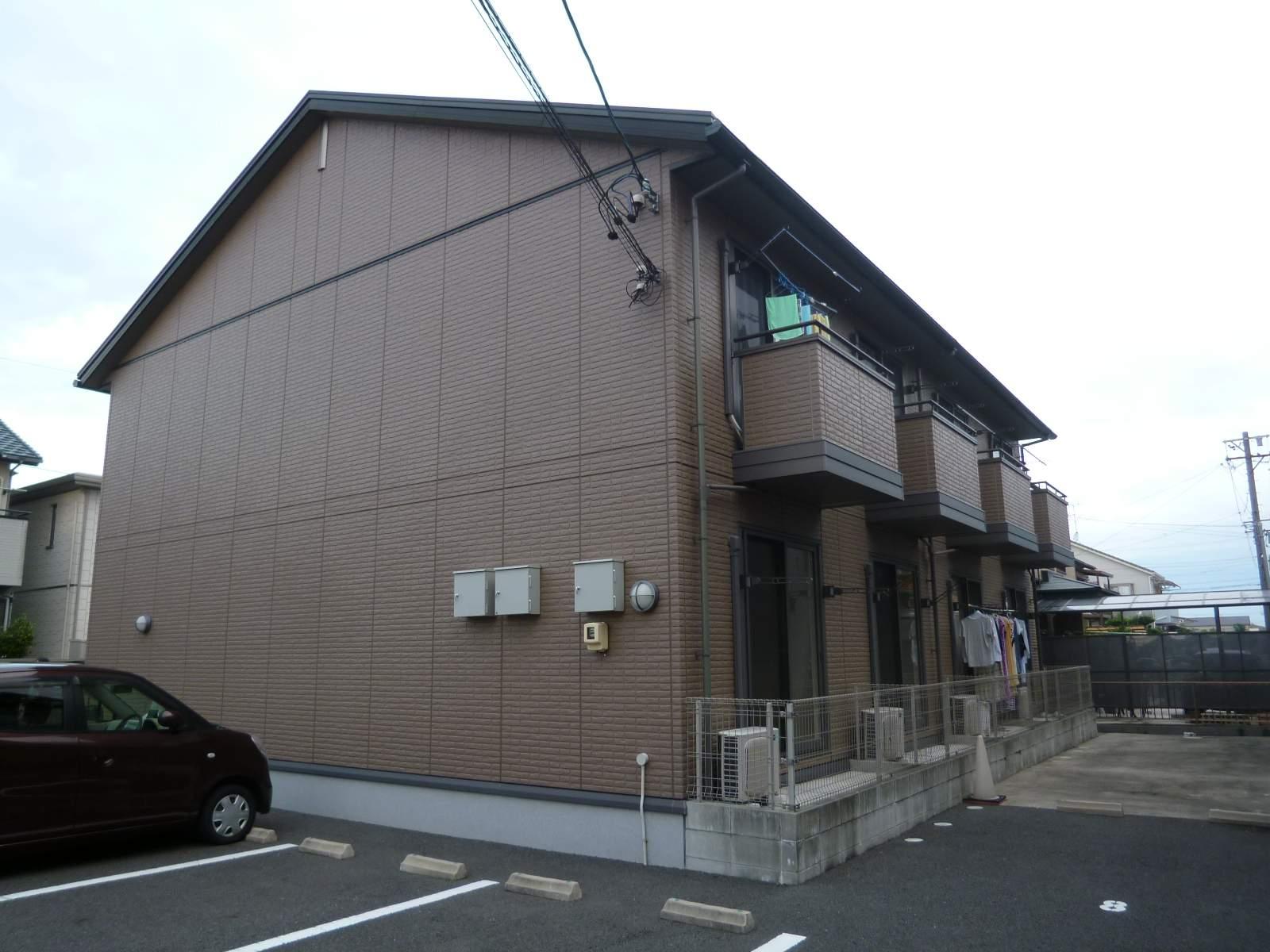 愛知県一宮市、石刀駅徒歩12分の築10年 2階建の賃貸アパート