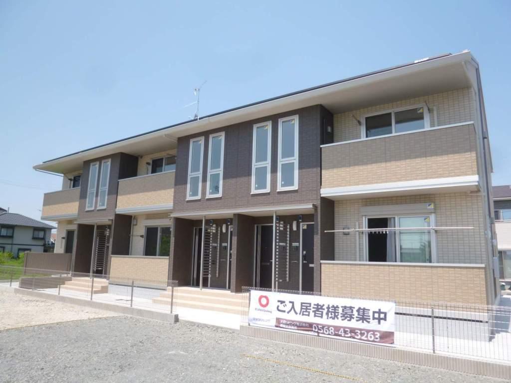 愛知県一宮市、尾張一宮駅徒歩24分の築3年 2階建の賃貸アパート