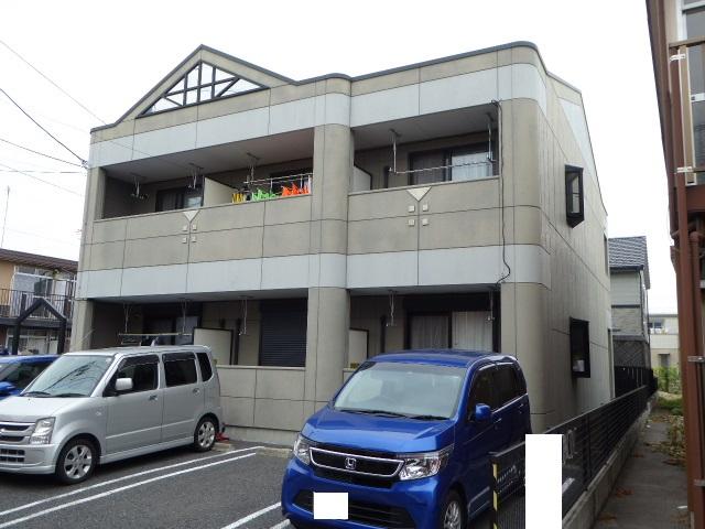 愛知県一宮市の築13年 2階建の賃貸アパート