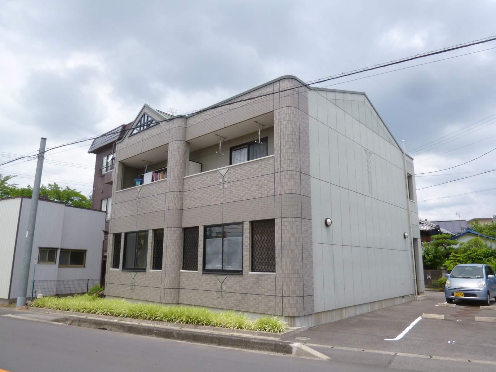 愛知県一宮市、名鉄一宮駅徒歩40分の築9年 2階建の賃貸アパート