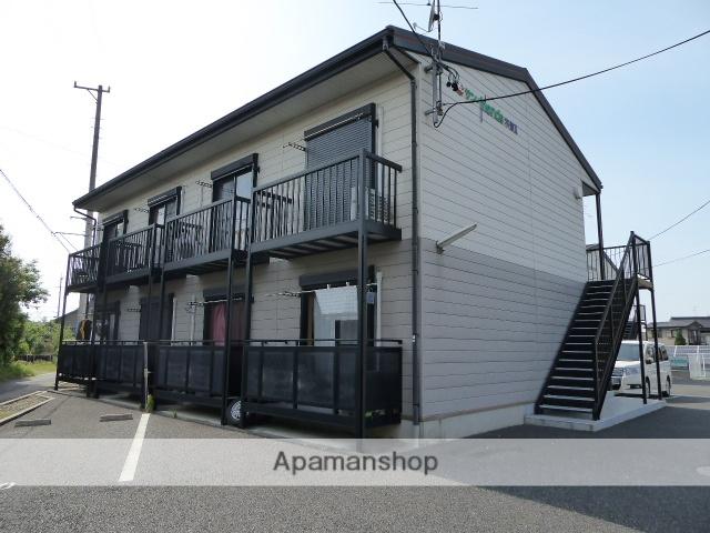 愛知県一宮市、名鉄一宮駅名鉄バスバス24分蓮池口下車後徒歩7分の築13年 2階建の賃貸アパート