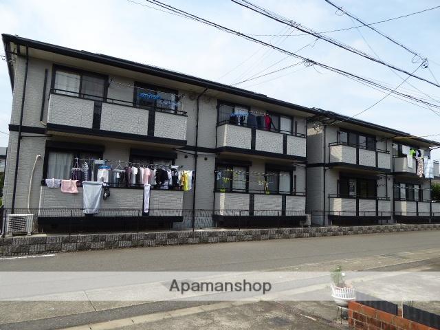 愛知県一宮市、名鉄一宮駅名鉄バスバス15分高田下車後徒歩4分の築18年 2階建の賃貸アパート