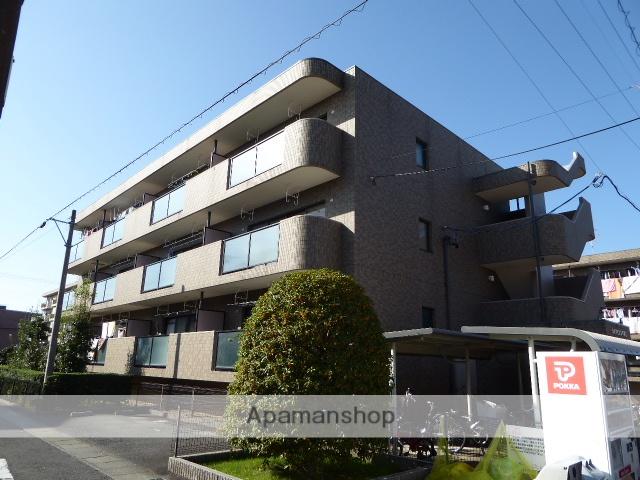 愛知県一宮市、尾張一宮駅徒歩13分の築20年 3階建の賃貸マンション