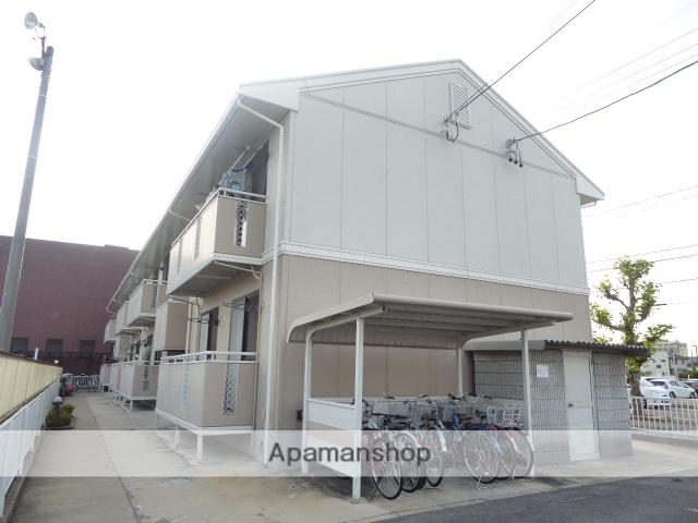愛知県一宮市、尾張一宮駅徒歩20分の築25年 2階建の賃貸アパート