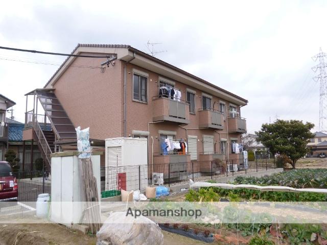 愛知県一宮市、尾張一宮駅名鉄バスバス12分水法下車後徒歩6分の築9年 2階建の賃貸アパート