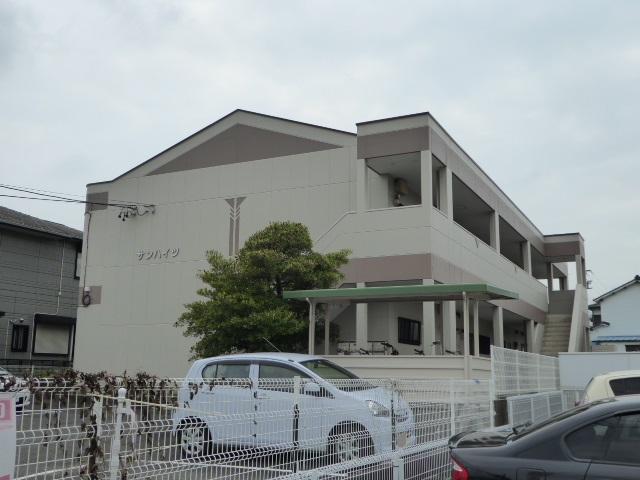 愛知県一宮市、今伊勢駅徒歩18分の築20年 2階建の賃貸アパート