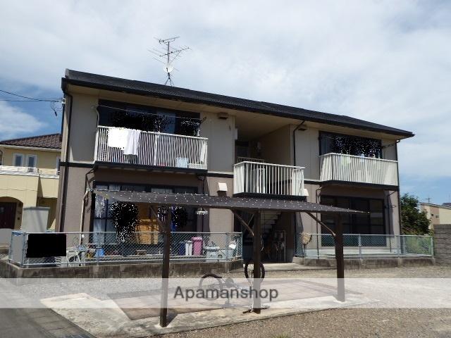 愛知県一宮市、尾張一宮駅名鉄バスバス24分春明下車後徒歩10分の築22年 2階建の賃貸アパート