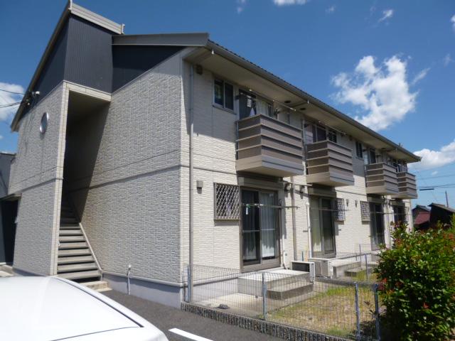 愛知県一宮市、石刀駅徒歩16分の築11年 2階建の賃貸アパート