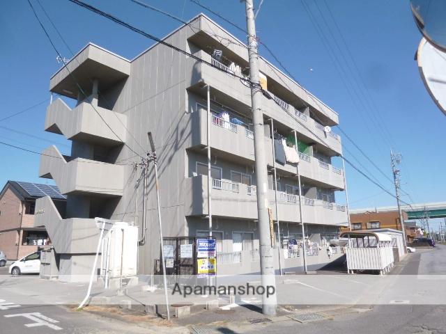 愛知県一宮市、二子駅徒歩16分の築26年 4階建の賃貸マンション