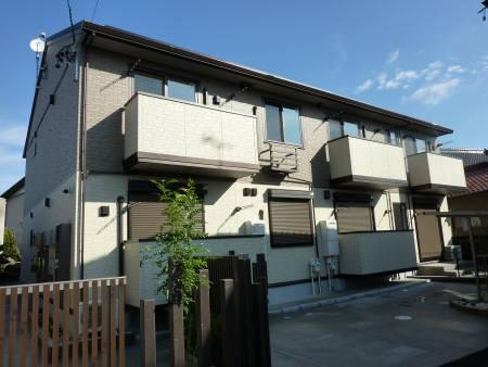 愛知県一宮市、奥町駅徒歩10分の築2年 2階建の賃貸アパート