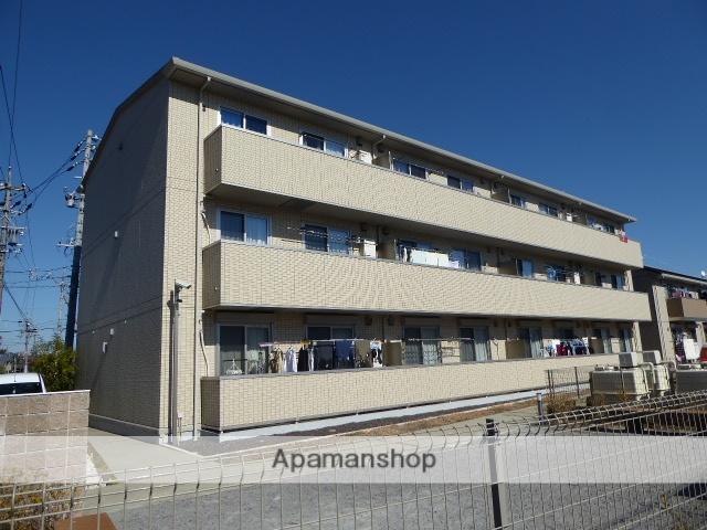 愛知県一宮市、黒田駅徒歩17分の築7年 3階建の賃貸マンション