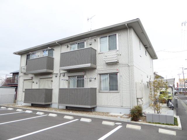 愛知県一宮市の築1年 2階建の賃貸アパート