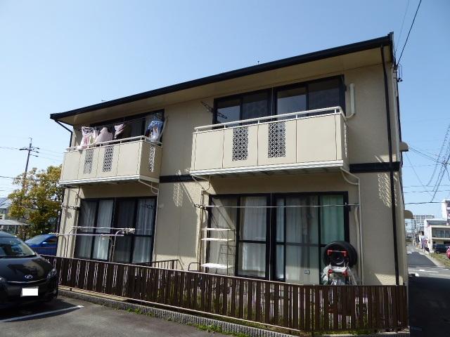 愛知県一宮市、尾張一宮駅徒歩15分の築25年 2階建の賃貸アパート