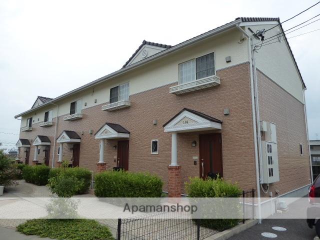 愛知県一宮市、木曽川駅徒歩23分の築10年 2階建の賃貸テラスハウス