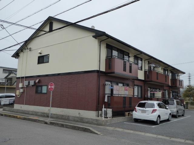 愛知県一宮市、名鉄一宮駅名鉄バスバス10分森本下車後徒歩3分の築19年 2階建の賃貸アパート