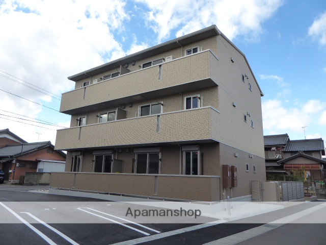 愛知県一宮市の築1年 3階建の賃貸アパート