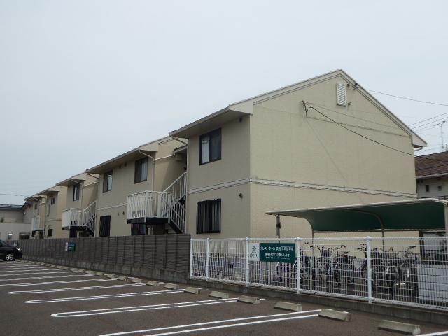 愛知県一宮市、尾張一宮駅名鉄バスバス1分印田下車後徒歩6分の築27年 2階建の賃貸アパート