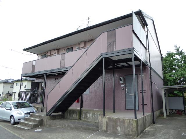 愛知県一宮市、二子駅徒歩40分の築18年 2階建の賃貸アパート