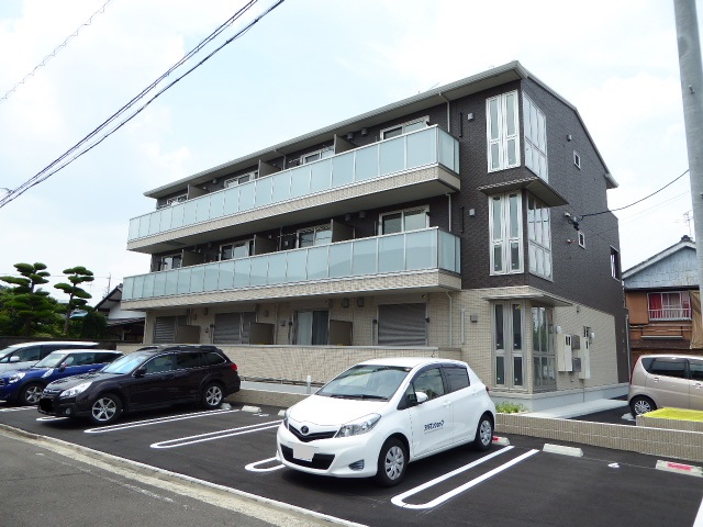 愛知県一宮市、尾張一宮駅徒歩18分の新築 3階建の賃貸アパート