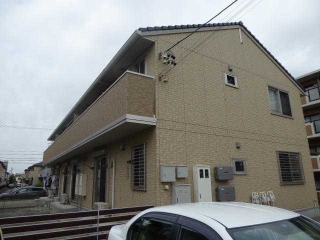 愛知県一宮市、今伊勢駅徒歩8分の築5年 2階建の賃貸アパート