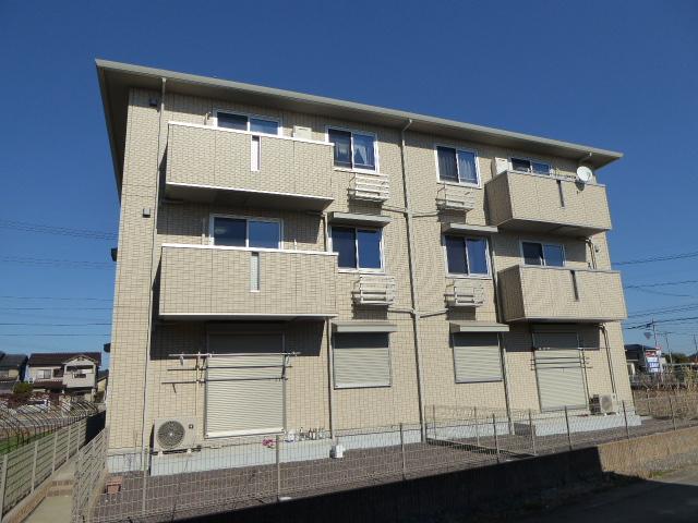 愛知県一宮市、木曽川駅徒歩24分の築7年 3階建の賃貸マンション
