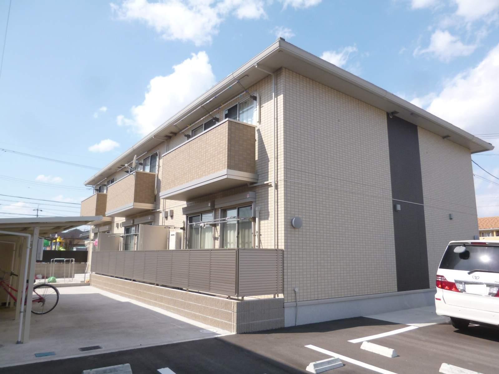愛知県一宮市の築4年 2階建の賃貸アパート