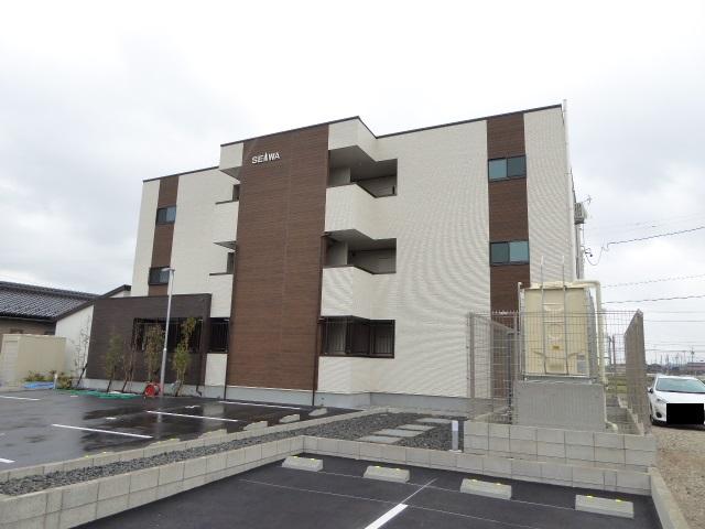 愛知県稲沢市、稲沢駅徒歩27分の新築 3階建の賃貸アパート