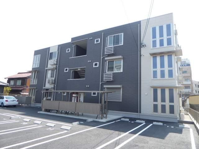 愛知県一宮市、木曽川駅徒歩9分の新築 3階建の賃貸アパート