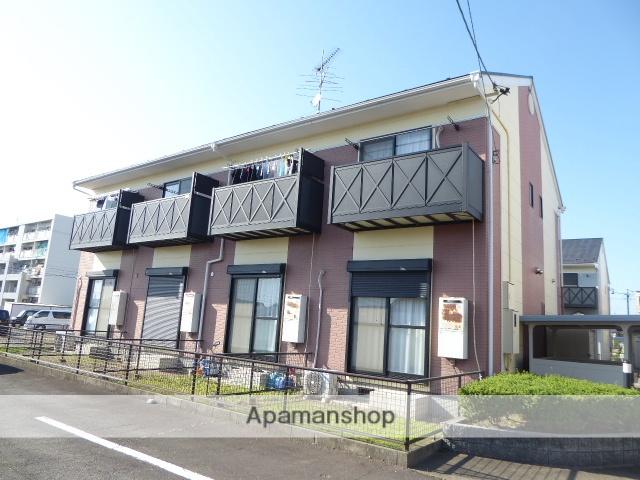 愛知県一宮市、尾張一宮駅名鉄バスバス35分春明住宅前下車後徒歩3分の築17年 2階建の賃貸アパート