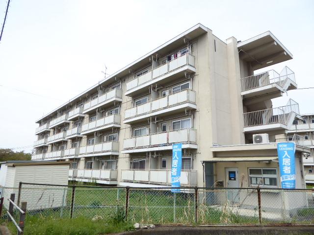 愛知県一宮市、新木曽川駅徒歩42分の築52年 4階建の賃貸マンション