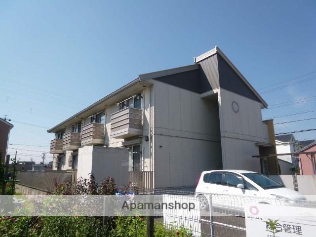 愛知県一宮市、島氏永駅徒歩14分の築12年 2階建の賃貸アパート