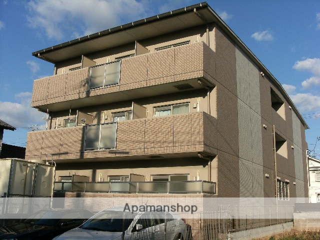 愛知県一宮市、尾張一宮駅徒歩17分の築10年 3階建の賃貸マンション