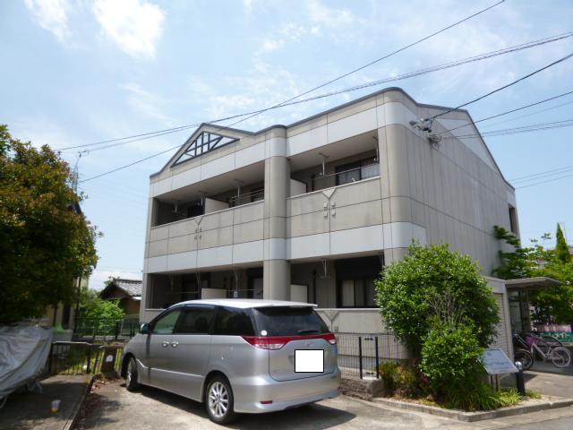 愛知県一宮市、二子駅徒歩15分の築12年 2階建の賃貸アパート