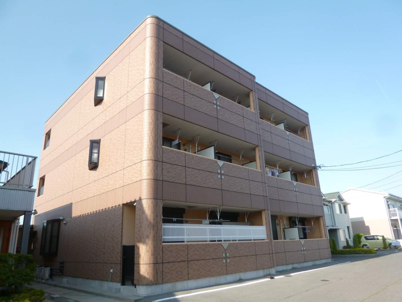 愛知県一宮市、今伊勢駅徒歩10分の築9年 3階建の賃貸アパート